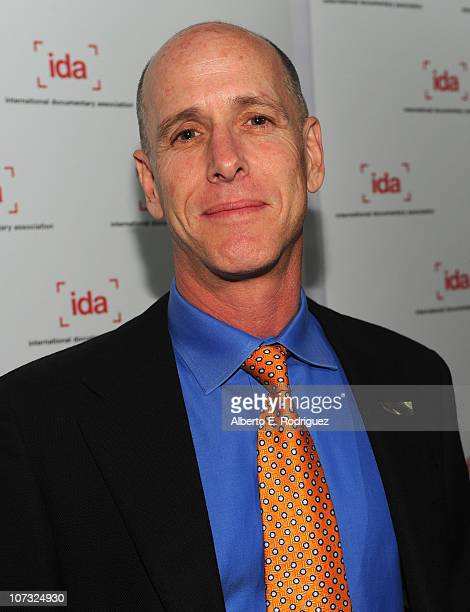 Producer Mark Wolper arrive at the International Documentary Association's 26th annual awards ceremony at the Directors Guild Of America on December...