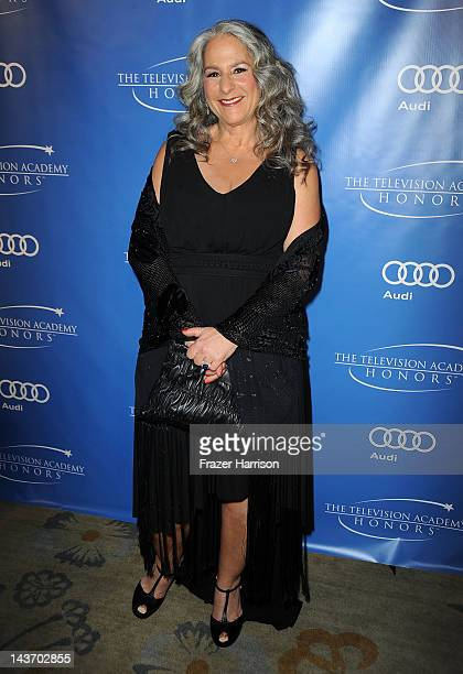 producer Martha Kauffman arrives at The Academy Of Television Arts Sciences' 5th Annual Television Honors at Beverly Hills Hotel on May 2 2012 in...