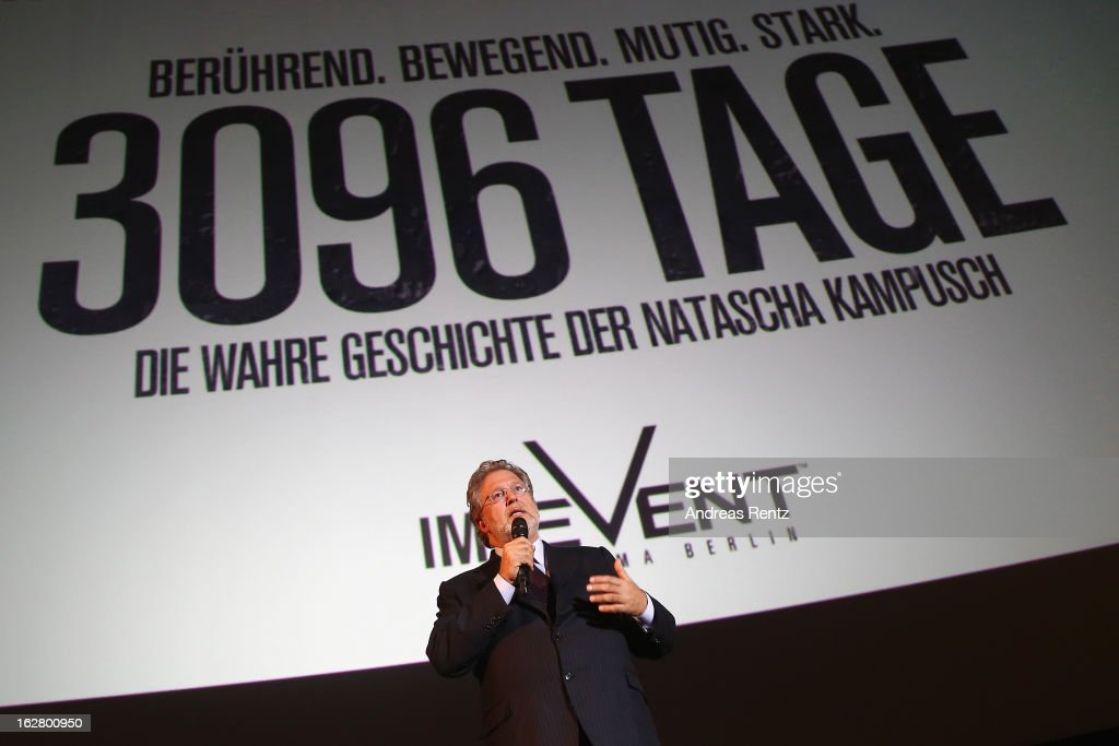 Producer Martin Moszkowicz attends the '3096 Tage' Berlin Premiere at CineStar on February 27, 2013 in Berlin, Germany.
