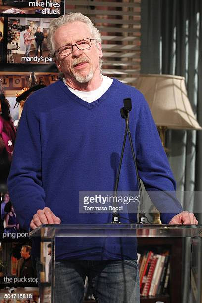 "Producer Matt Berry attends the 100th episode celebration of ABC's ""Last Man Standing"" held at CBS Studios - Radford on January 12, 2016 in Studio..."