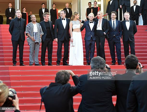 US producer Matt Palmieri US actor Zubin Cooper US actor and director Sean Penn French actor Jean Reno French actress Adele Exarchopoulos Sean Penn's...