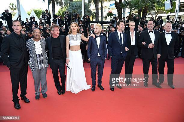 US producer Matt Palmieri US actor Zubin Cooper US actor and director Sean Penn French actress Adele Exarchopoulos Sean Penn's son Hopper Jack Penn...
