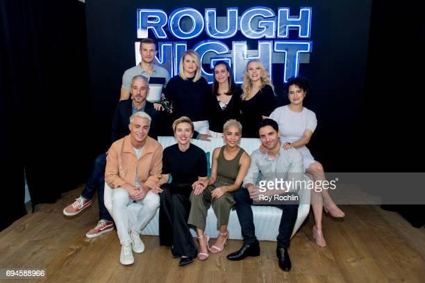 Producer Matt Tolmach, actors Ryan Cooper, Jillian Bell, director Lucia Aniello and actress Kate McKinnon. Actors Colton Haynes, Scarlett Johansson,...