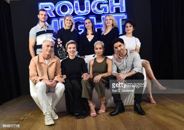Producer Matt Tolmach actors Ryan Cooper Jillian Bell director Lucia Aniello and actress Kate McKinnon actors Colton Haynes Scarlett Johansson Zoe...
