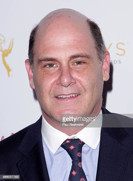 Producer Matthew Weiner attends the Television Academy Celebrates The 67th Emmy Award Nominees for Outstanding Producing at Montage Beverly Hills on...