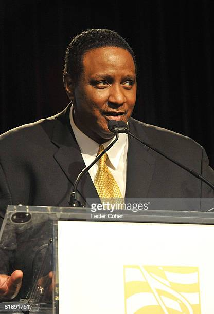Producer Maurice Starr onstage at the 2008 ASCAP Rhythm and Soul Awards at the Beverly Hilton Hotel on June 23 2008 in Los Angeles California