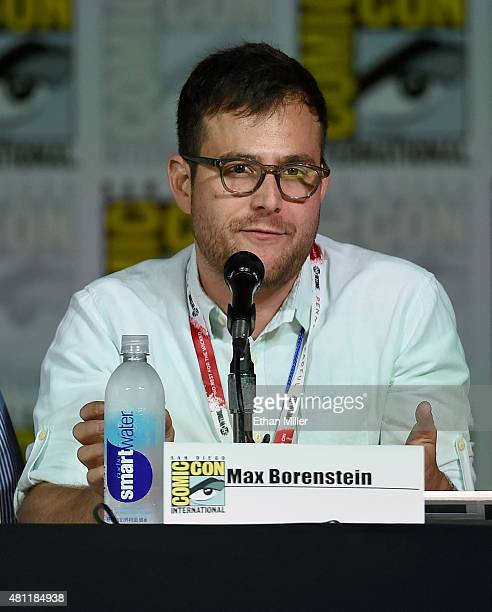 Producer Max Borenstein attends the 'Minority Report' panel during ComicCon International 2015 at the San Diego Convention Center on July 10 2015 in...