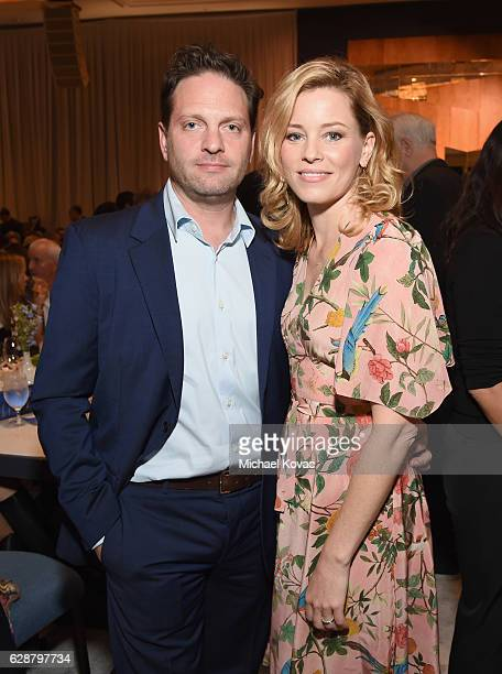Producer Max Handelman and actress Elizabeth Banks attend 2016 March of Dimes Celebration of Babies at the Beverly Wilshire Four Seasons Hotel on...