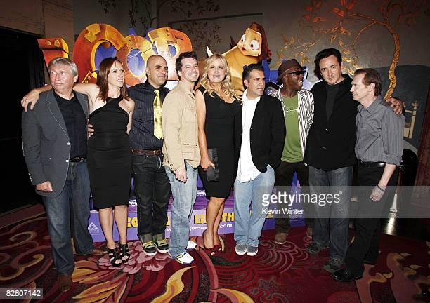 Producer Max Howard actress Molly Shannon director Tony Leondis actors Sean Hayes Jennifer Coolidge producer John Eraklis actors Arsenio Hall John...