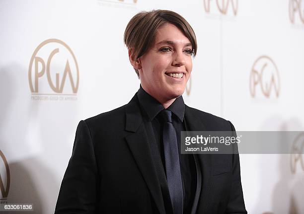 Producer Megan Ellison attends the 28th annual Producers Guild Awards at The Beverly Hilton Hotel on January 28 2017 in Beverly Hills California