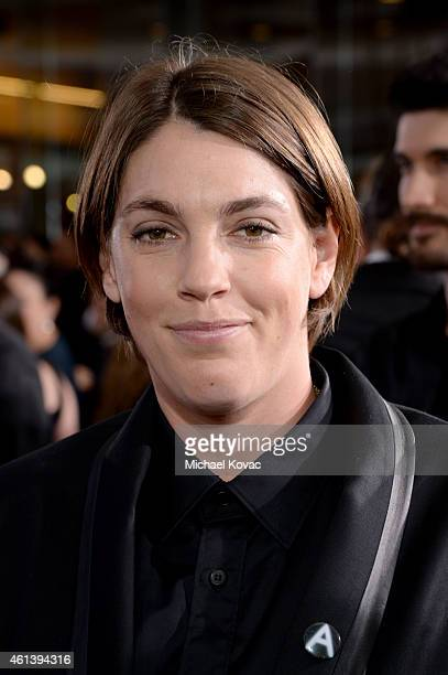 Producer Megan Ellison attends the 72nd Annual Golden Globe Awards at The Beverly Hilton Hotel on January 11 2015 in Beverly Hills California
