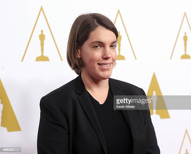 Producer Megan Ellison attends the 86th Academy Awards nominee luncheon at The Beverly Hilton Hotel on February 10 2014 in Beverly Hills California