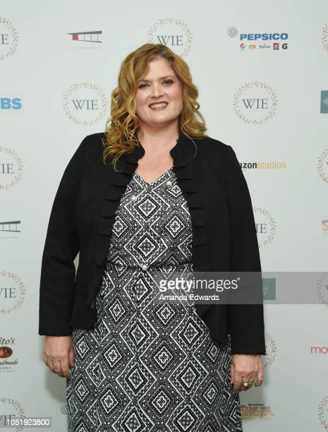 Producer Melanie Miller attends the Women In Entertainment's 4th Annual Summit at the Skirball Cultural Center on October 11 2018 in Los Angeles...