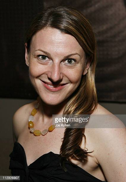Producer Melanie Sylvan attends Stitching Opening Night Party on June 25 2008 in New York City
