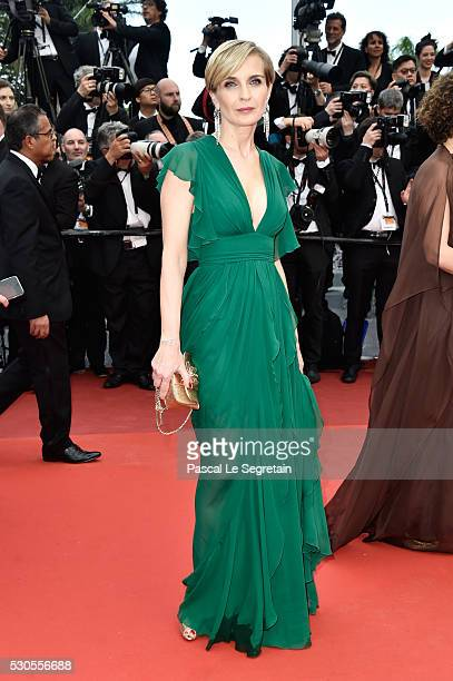 Producer Melita Toscan du Plantier attends the 'Cafe Society' premiere and the Opening Night Gala during the 69th annual Cannes Film Festival at the...