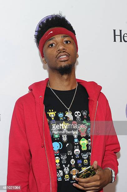 Producer Metro Boomin attends LA Reid Presents A Night With Future at Three Sixty on July 16 2015 in New York City