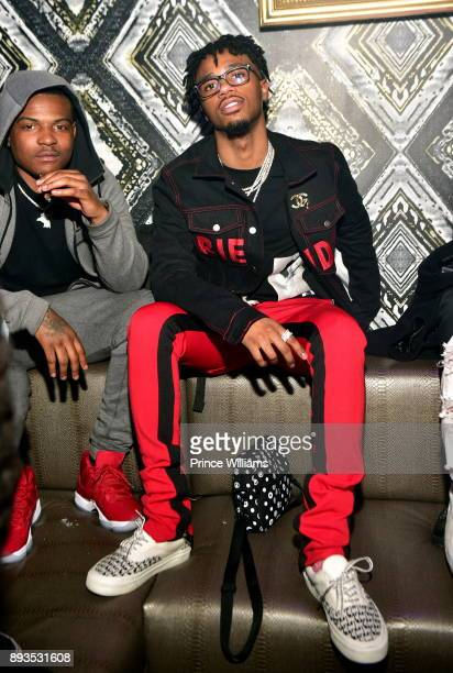 Producer Metro Boomin attends the BMI Holiday Party at O2 Lounge on December 14 2017 in Atlanta Georgia