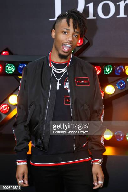 Producer Metro Boomin attends the Dior Homme Menswear Fall/Winter 20182019 show as part of Paris Fashion Week on January 20 2018 in Paris France