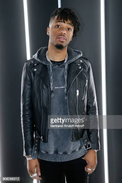 Producer Metro Boomin attends the 'YSL Beauty Hotel' event during Paris Fashion Week Menswear Fall/Winter 20182019 on January 17 2018 in Paris France