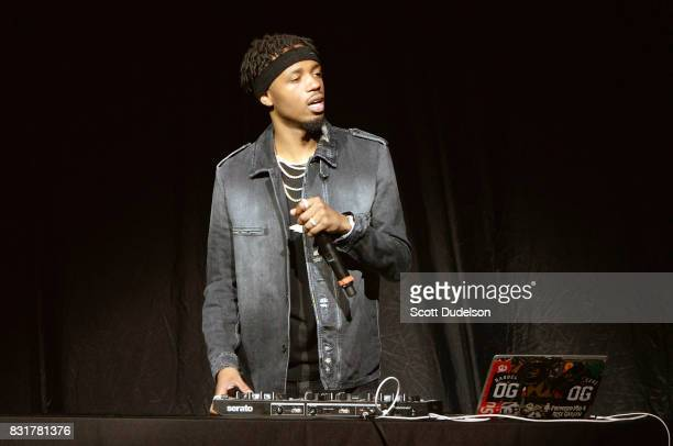 Producer Metro Boomin performs onstage at The Greek Theatre on August 14 2017 in Los Angeles California