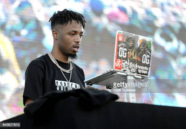 Producer Metro Boomin performs onstage during the Day N Night Festival at Angel Stadium of Anaheim on September 10 2017 in Anaheim California