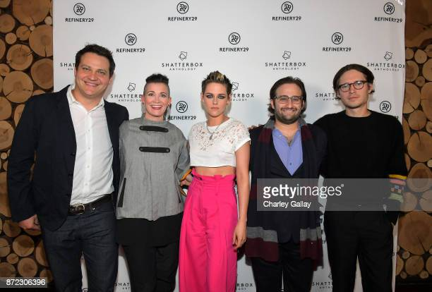 Producer Michael A Pruss Chief Content Officer Refinery29 Amy Emmerich writer/director Kristen Stewart producer David Shapiro and actor Josh Kaye at...