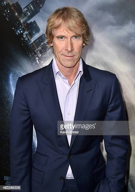 Producer Michael Bay attends the premiere of Paramount Pictures' 'Project Almanac' at TCL Chinese Theatre on January 27 2015 in Hollywood California