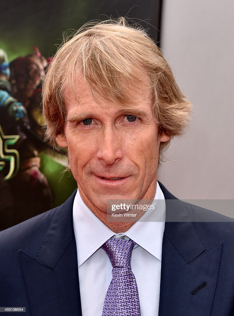 Producer Michael Bay attends the premiere of Paramount Pictures' 'Teenage Mutant Ninja Turtles' at Regency Village Theater on August 3, 2014 in Westwood, California.