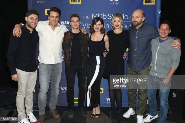 Producer Michael H Weber director/actor James Franco actress Alison Brie actor Dave Franco actress Ari Graynor actor Paul Scheer and producer Scott...