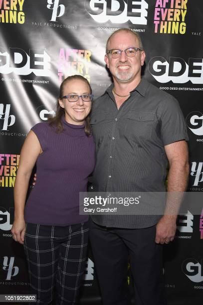 Producer Michael J Rothstein and Allison Rothstein attend the world premiere of 'After Everything' at IFC Center on October 10 2018 in New York City