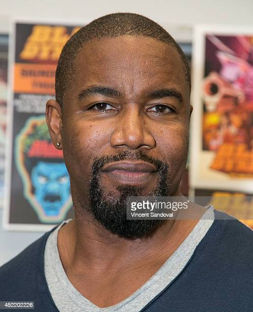 Producer Michael Jai White attends the Black Dynamite DVD signing at Amoeba Music on July 15 2014 in Hollywood California