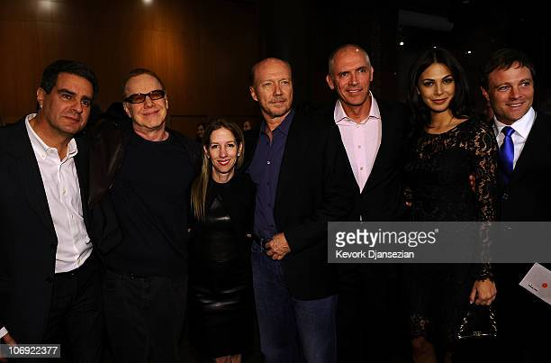 Producer Michael Nozik Musician Danny Elfman Lionsgate President of Motion Picture Production Alli Shearmur Writer/director Paul Haggis Lionsgate's...