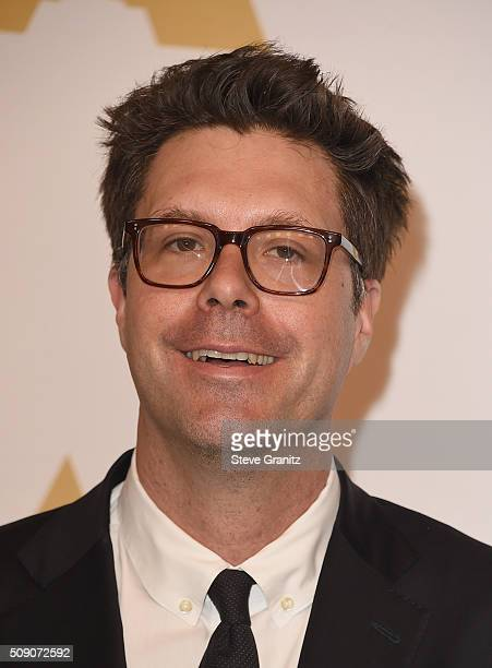 Producer Michael Schaefer attends the 88th Annual Academy Awards nominee luncheon on February 8 2016 in Beverly Hills California
