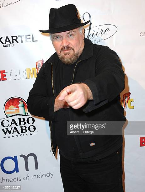 Producer Michael Simmons attends Britticares Toy Drive with a benefit concert by G Tom Mac Many Of Odd Nature in conjunction with publicist Michael...