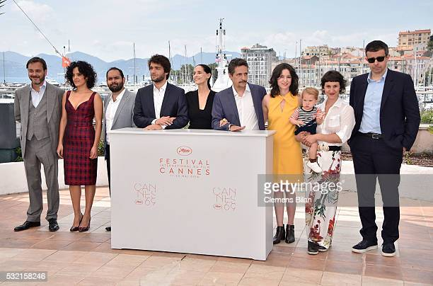 Producer Michel Merkt actors Maeve Jinkings Fabio Leal Humberto Carrao Sonia Braga director Kleber Mendonca Filho producer Emilie Lesclaux actress...