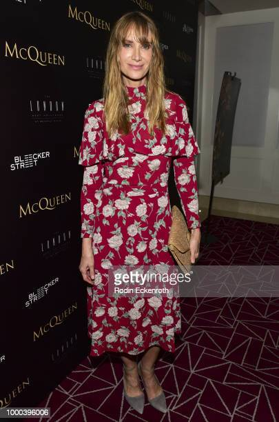 Producer Michela Scolari attends a special screening of 'MCQUEEN' at The London Hotel on July 16 2018 in West Hollywood California