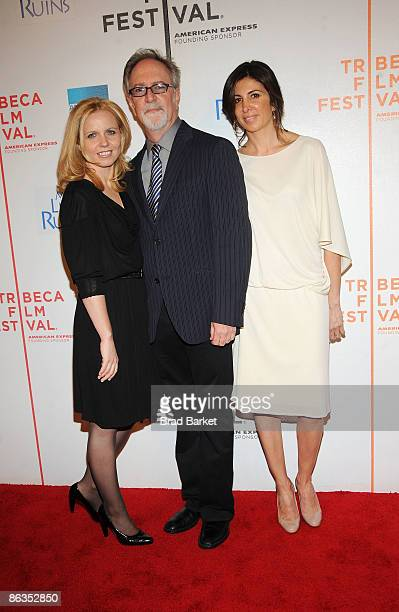 Producer Michelle Chydzik actor Gary Goetzman and producer Nathalie Marciano attend the premiere of My Life in Ruins during the 2009 Tribeca Film...