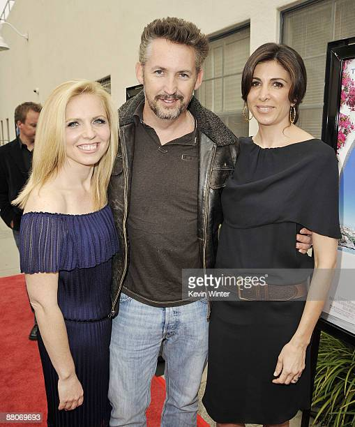 Producer Michelle Chydzik actor Harland Williams and producer Nathalie Marciano pose at the premiere of Fox Searchlight's My Life in Ruins at the...