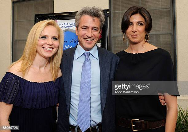Producer Michelle Chydzik Dermot Mulroney and Producer Nathalie Marciano arrive at the Los Angeles premiere of My Life In Ruins at the Zanuck Theater...