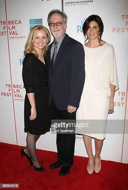 Producer Michelle Chydzik Gary Goetzman and producer Nathalie Marciano attend the premiere of My Life in Ruins during the 8th Annual Tribeca Film...