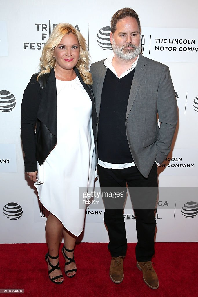 Producer Michelle Purple and Director Bill Purple, attends 'The Devil And The Deep Blue Sea' Premiere during 2016 Tribeca Film Festival at BMCC John Zuccotti Theater on April 14, 2016 in New York City.