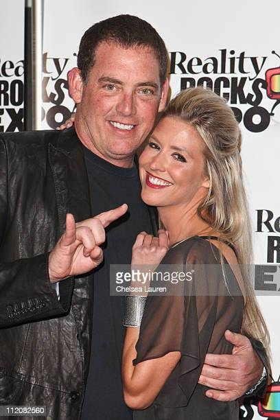 Producer Mike Fleiss and television personality Natalie Getz arrive at the 2011 Reality Rocks Awards at Los Angeles Convention Center on April 10...