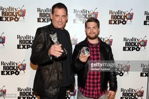 Producer Mike Fleiss and TV personality Jack Osbourne attend the Reality Rocks Expo Fan Awards at the Los Angeles Convention Center on April 9 2011...