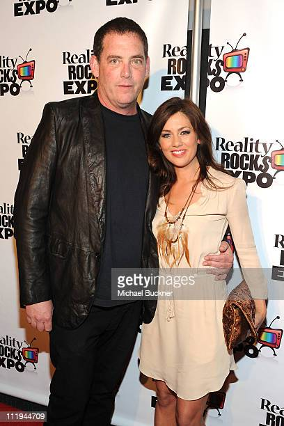 Producer Mike Fleiss and TV personality Jillian Harris attend the Reality Rocks Expo Fan Awards at the Los Angeles Convention Center on April 9 2011...