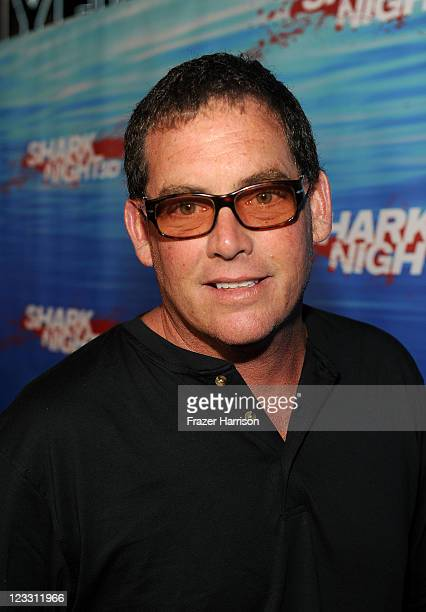 Producer Mike Fleiss arrives at Shark Night screening at Universal CityWalk on September 1 2011 in Universal City California