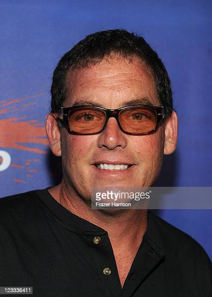 Producer Mike Fleiss arrives at Shark Night screening at Universal CityWalk on September 1 2011 in Universal City California