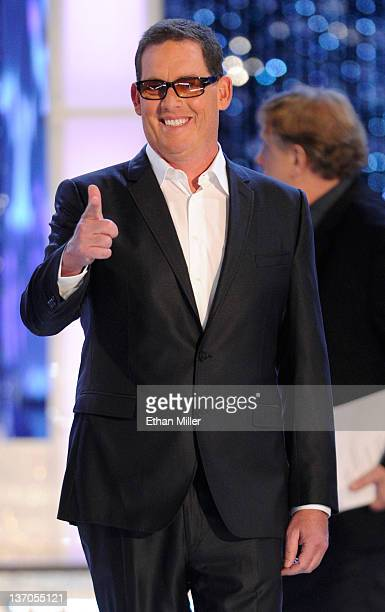 Producer Mike Fleiss is introduced as a judge during the 2012 Miss America Pageant at the Planet Hollywood Resort Casino January 14 2012 in Las Vegas...