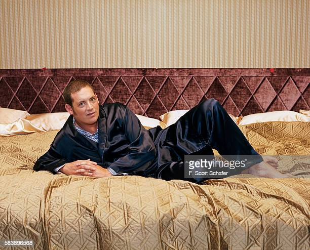 Producer Mike Fleiss is photographed for People Magazine in 2004