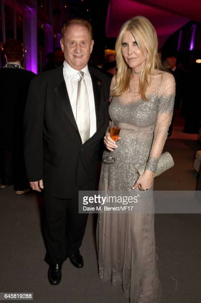 Producer Mike Medavoy and Irena Medavoy attend the 2017 Vanity Fair Oscar Party hosted by Graydon Carter at Wallis Annenberg Center for the...