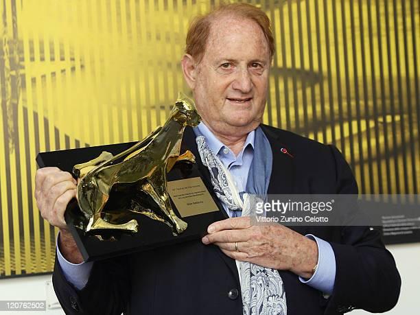 Producer Mike Medavoy poses with the Premio Raimondo Rezzonico photocall during the 64th Festival del Film di Locarno on August 9 2011 in Locarno...